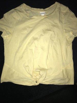 H&M Cropped Shirt primrose