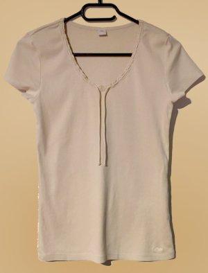T-Shirt, kurzärmlig, U-Schnitt, Gr. 36