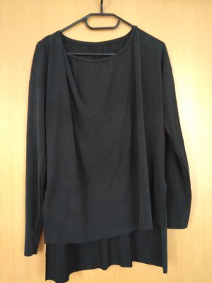 Zara Cowl-Neck Shirt anthracite