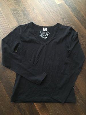 T-Shirt langarm schwarz Gr. XL neu mit Etikett