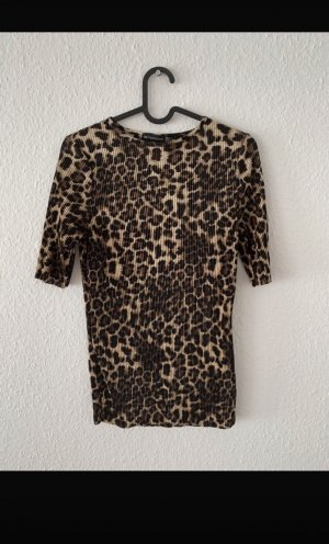 T-Shirt leoparden optik