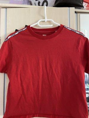 Levi's T-shirt rosso-bianco