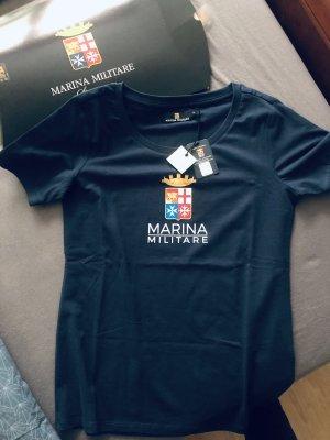0039 Italy T-shirt bleu foncé
