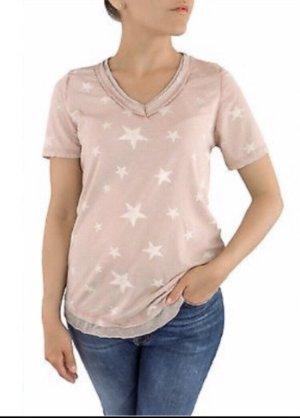 Lindsay Moda Long Shirt rose-gold-coloured