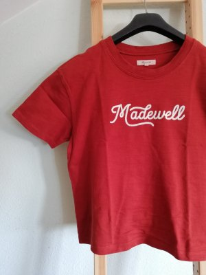 T-shirt Madewell bestickt oversized