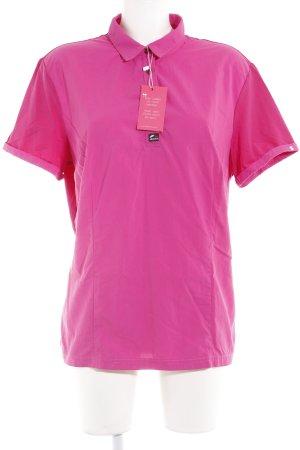 T-Shirt magenta sportlicher Stil