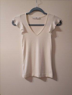 T-shirt Mango Creme XS neu