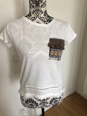 T-Shirt MANGO Ethno Look