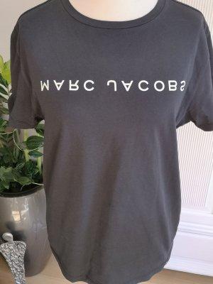 Marc Jacobs Koszulka z nadrukiem biały-czarny Bawełna