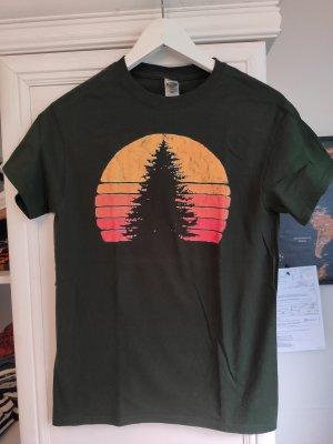 Gildan T-Shirt dark green