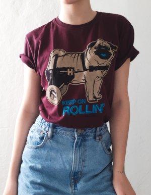 T-Shirt mit Aufdruck Mops