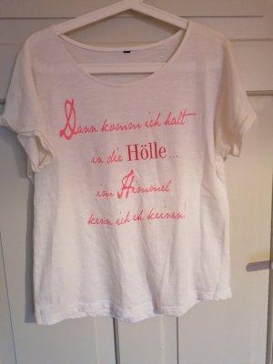 T-shirt mit Aufdruck Shirt mit Print