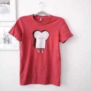 T-Shirt mit Aufdruck von Cleptomanicx Gr. M