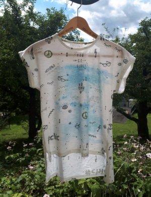 T-Shirt mit Aufdrucken
