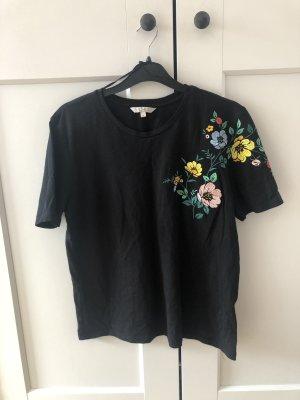 T Shirt mit blumenmuster