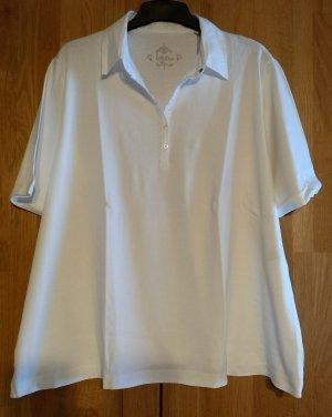 T-Shirt  mit Blusenkragen