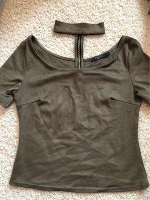 T-Shirt mit Chocker