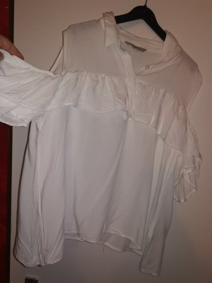 Ckh Cut Out Top white