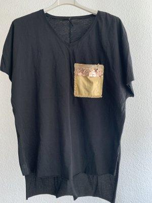 T shirt mit detail neu gr s/m