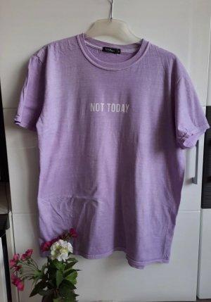 Boohoo T-shirt paars