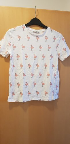 T-Shirt mit Flamingos