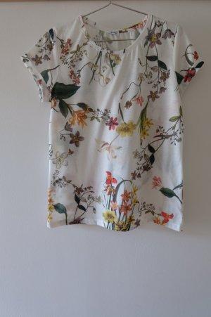 T - Shirt mit floralem Muster
