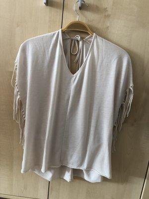 T-Shirt mit Franzen von Vero Moda