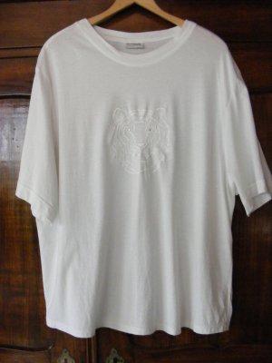 T-Shirt mit gesticktem Tigerkopf