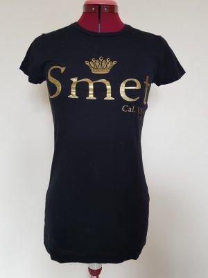 T-Shirt mit Golddetails