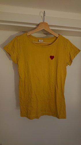 Jaqueline de Yong T-Shirt gold orange