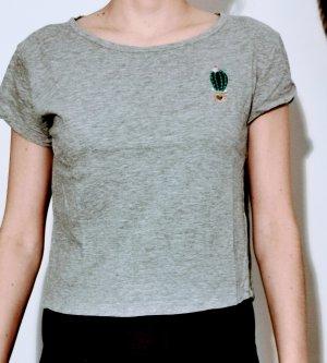 T-shirt court multicolore
