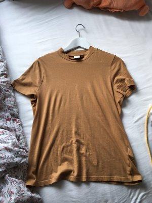 H&M Maglia a collo alto marrone