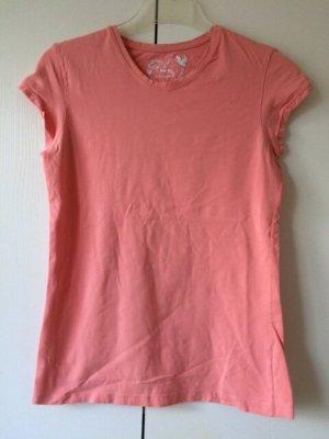 Atmosphere Shirt basique rose chair coton