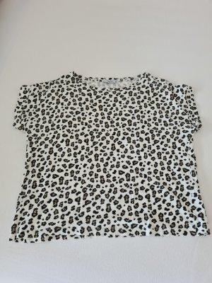 T-Shirt mit Leodruck, Gr. M