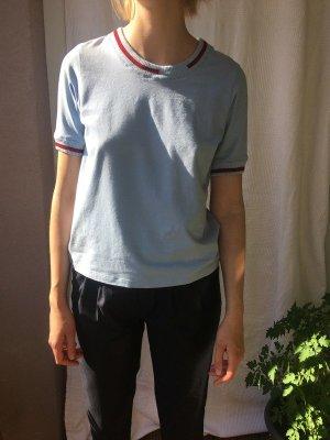 t-shirt mit M.Wolle-bündchen meshit