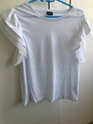 T-Shirt mit Mesh Ärmeln von Fresh Made femme