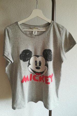 T-Shirt mit Mickey-Druck