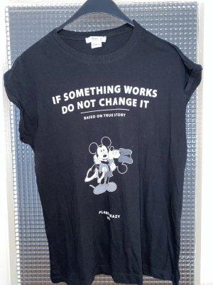 T-Shirt mit Mickey Maus Aufdruck, Disney, M