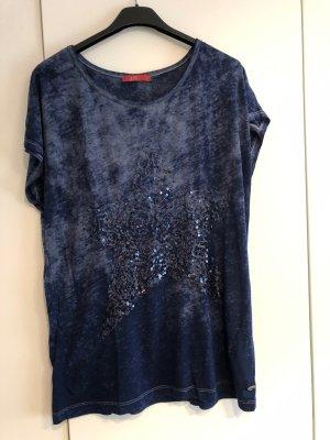 T-Shirt mit Paletten-Stern