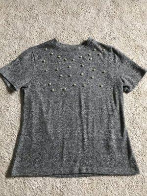T-Shirt mit Perlen