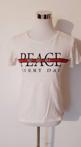 T-Shirt mit Perlen Garcia