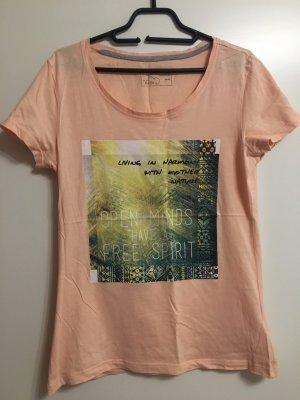 Basic T-shirt abricot-rose chair