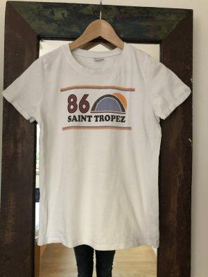 Saint Tropez Camiseta estampada multicolor Algodón