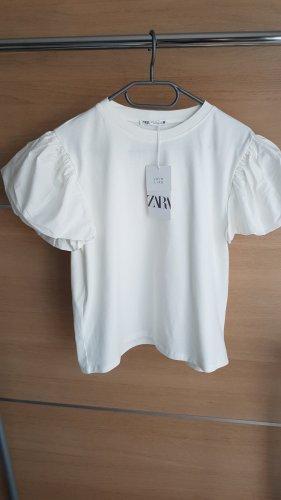 T-shirt mit Puffärmel