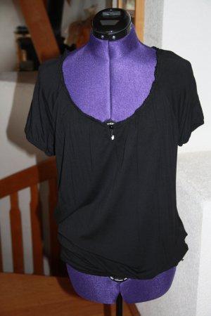 Mogul T-shirt nero Viscosa
