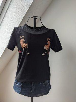 T-Shirt mit Raubkatzenmotiv von Twintip