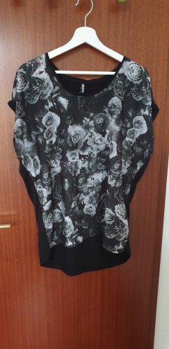 T-Shirt mit Rosen