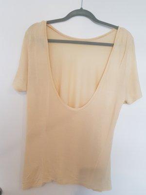 T-Shirt mit Rückenausschnitt