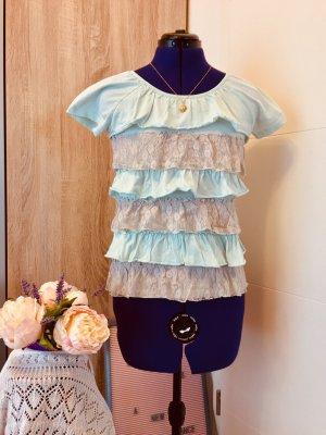 Arizona T-Shirt baby blue-light blue polyamide