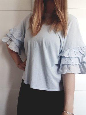 H&M T-shirt błękitny